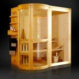 Het Kabinet van de Sauna van de Stoom van de luxe, de Cabine van de Sauna, het Kabinet van de Sauna van de Stoom met het Materiaal van de Dollekervel (SR1Q002)