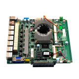 Motherboard van de firewall met de Groef van de Kaart van het CF, Motherboard van de Omleiding met Bewerker J1900