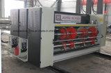 Impression ondulée de Flexo de carton de couleur automatique de la vitesse 4 rainant la machine de découpage