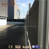 Im Freieneinfaches zusammengesetzten dem Zaun zu des Installations-Aluminium-WPC für Garten