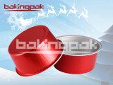 Круглая чашка выпечки алюминиевой фольги верхнего сегмента для тортов и пудингов рождества