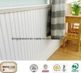 Panneau mural en MDF décoratif en bois carré de bonne qualité personnalisé