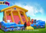 Корова Фарм Надувной Комбо Баунтер Детская площадка для детей прыгает