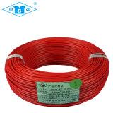 Cabo de fio elétrico isolado PVC flexível de cobre