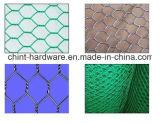 Engranzamento sextavado revestido galvanizada e do PVC de fio