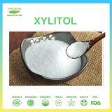 Xilitol cristalino del dulcificante para la crema dental del chicle o del xilitol