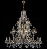 De Kroonluchter van het Plafond van het Kristal van de Luxe van het hotel (1771-20+10+5 B GB)