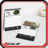 Impresión de encargo del calendario del regalo de la promoción