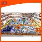 Спортивная площадка бассеина шарика Mich крытая с Trampoline