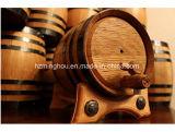 Baril de vin en bois pour le baril d'or de chêne de vin