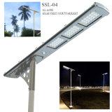 Straßenlaterne-Landschaftssolarlicht der nachladbare Batterie-Solarstraßen-LED 12 Stunden