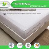 Protetor impermeável de sono do colchão do dobro da prova do erro de base da beleza