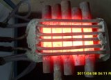 Onophoudelijk Machine van het Smeedstuk van de Inductie van het Ijzer van het Staal de Hete voor Bouten 80kw