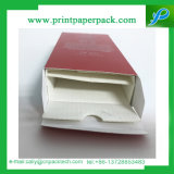 Cadre de empaquetage de papier cosmétique de bouteille en verre de parfum de parfum de mode