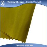 75D el 100% cubrió la tela de imitación impermeable de la memoria de la dimensión de una variable del poliester para el uso de la chaqueta