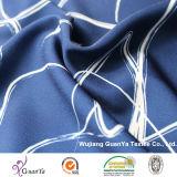 Напечатанная ткань Cdc (Creape de Китая) для рубашки