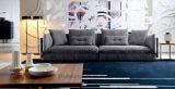 Grosses Größen-modernes Gewebe-Schnittsofa für Wohnzimmer (Ms1101)