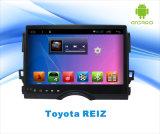 Navigation androïde de véhicule du système GPS pour Toyota Reiz écran tactile de 10.1 pouces avec Bluetooth/WiFi/TV/MP4