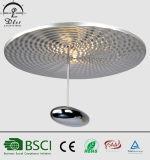 Lámpara popular del techo del color de plata al por mayor LED para la iluminación del sitio
