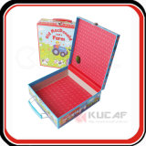 Alta qualidade Customized Design Hard Paperboard Toys Box