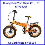 脂肪質のタイヤの車輪が付いている20inch 4.0折る都市電気バイク