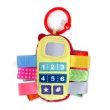 Игрушка телефона младенца плюша фабрики ICTI изготовленный на заказ