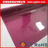 Film lustré élevé de PVC de couleur solide