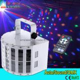 Proyección de la etapa LED Light T efecto de la presentación del partido 9 color DMX512 DJ Disco Light