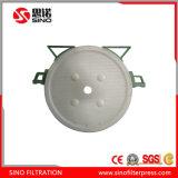 Prensa de filtro redonda automática para la arcilla de cerámica