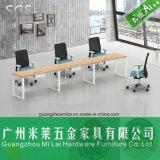 Mesa reta de Office&Study do projeto com pé de aço