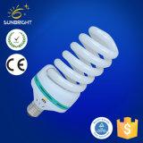 bulbo de lámpara ahorro de energía espiral lleno 11-40W