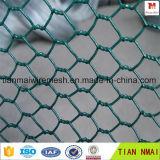 PVC ISOの証明書が付いている上塗を施してある六角形の金網(金網)