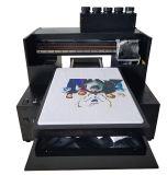 El más barato caliente de la venta Pequeño Tamaño A3 digital de superficie plana de inyección de tinta de impresora para imprimir en prendas de vestir