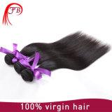 2017新しい到着100%の人間の毛髪の織り方の絹の直毛