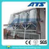 Pelotilla simple de la alimentación del Aqua de la operación que hace la instalación de producción