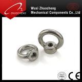 Noix de levage DIN582 de l'oeil M12 de l'acier inoxydable 304 de qualité d'approvisionnement d'usine