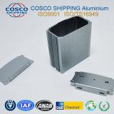Extrusion en aluminium/en aluminium pour la pièce jointe d'amplificateur de véhicule avec le soufflage de sable Anodziing