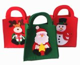 昇進のギフトのためのOEMのクリスマスのフェルトキャンデーのショッピング・バッグ