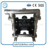 Bomba da pasta da membrana do vácuo do dobro do aço inoxidável (QBK-40)