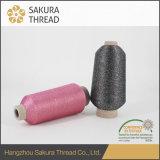 Amorçage métallique de broderie de ténacité élevée pour le tissu de matériau de tissu