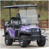 4つの車輪のゴルフ製品の後部座席が付いている電気ゴルフカート