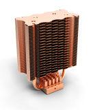 Radiateur de CPU de Ccr29A avec le caloduc de cuivre avec des homologations