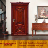 Luxry hölzerne Tür mit guter Qualität und konkurrenzfähigem Preis (GSP2-006)