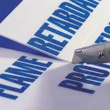 Hの棒、Coroplastの表記、波形のプラスチック印が付いている最もよい価格のCorfluteのヤードの印