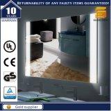 壁に取り付けられたLEDの反霧深い電気照らされた浴室スマートなミラー