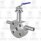 Tipo Jacketed válvula de esfera ASME 150lb da bolacha (BQ74F)