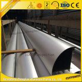 Perfil de alumínio de anodização da alta qualidade com tubulação de alumínio