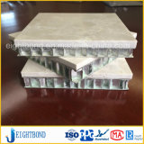 建築材料のためのアルミニウム蜜蜂の巣のパネルが付いている大理石の石造りの合成物