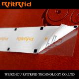 UHF Tamper Detection Passive RFID Sticker voor Ticket Management