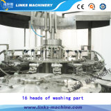 Mise en bouteilles minérale de l'eau de l'acier inoxydable 304 et machine recouvrante